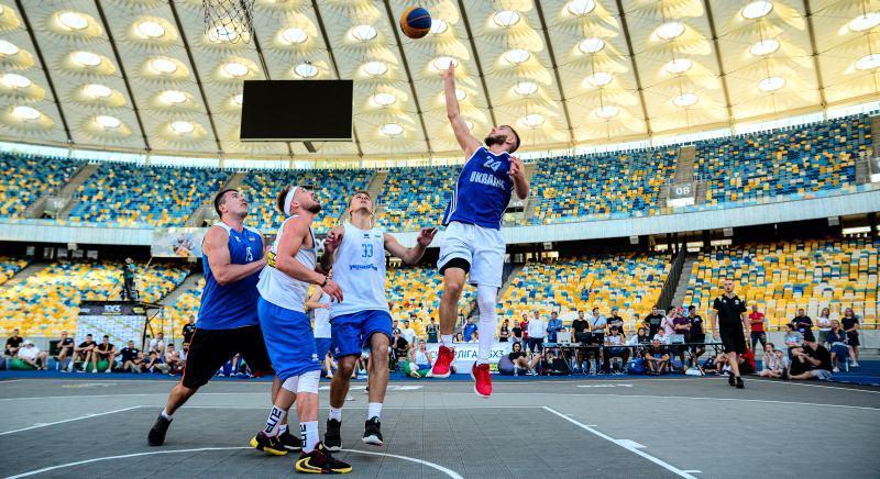Ефектний виступ учасників Суперліги Парі-Матч 3х3 на НСК Олімпійський: фотогалерея (2)