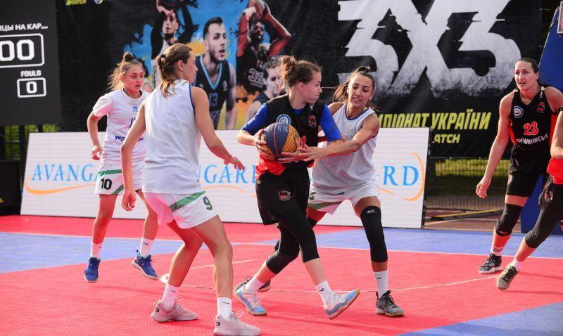 Чемпіонат України 3х3: рейтинг після трьох турів