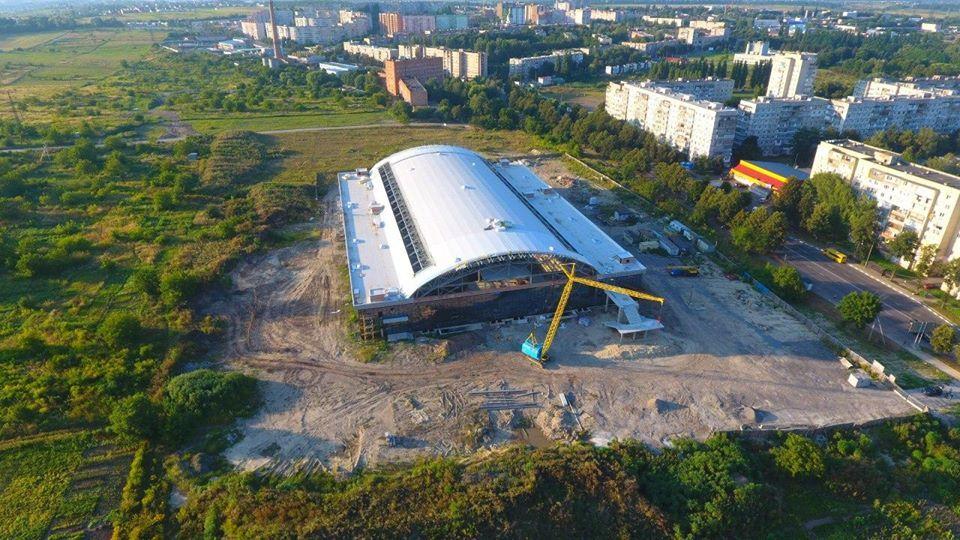 Будівництво Палацу спорту в Рівному отримає додаткове фінансування