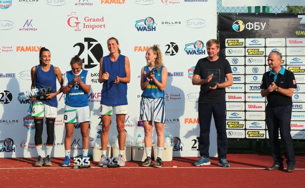 Определились победители 4-го тура чемпионата Украины по баскетболу 3х3