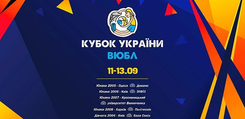 Кубок ВЮБЛ: відеотрансляція матчів 13 вересня