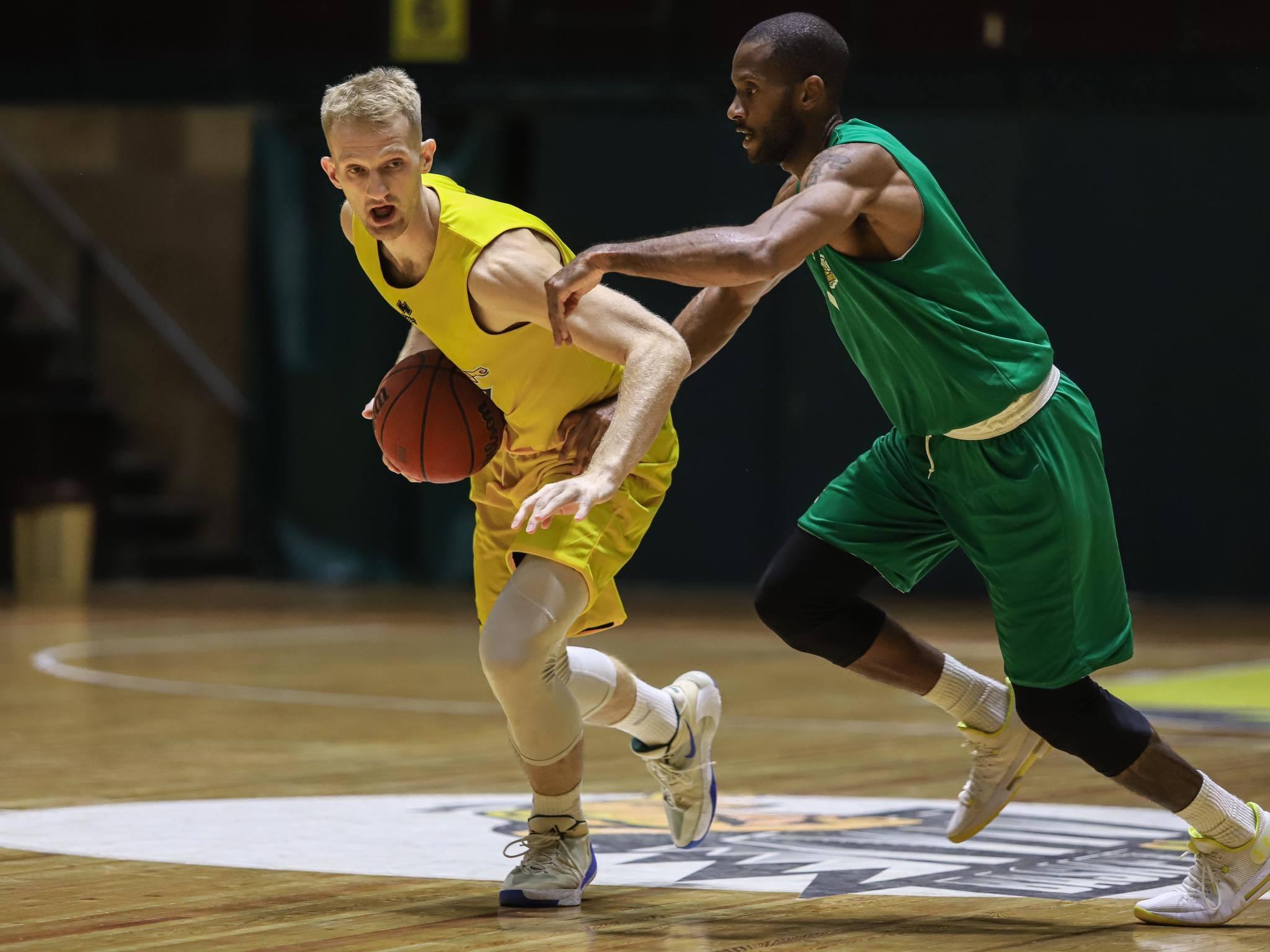 Київ-Баскет переміг Тернопіль у першому контрольному матчі