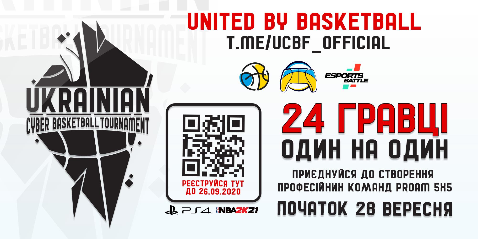 Наприкінці вересня стартує чемпіонат України з Кібербаскетболу