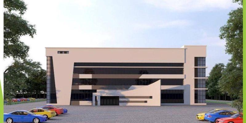 У Хмельницькому триває будівництво Палацу спорту