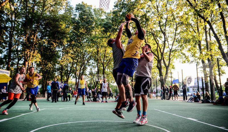 Турнір Kryukivshchyna Streetball Cup 3х3: фотогалерея