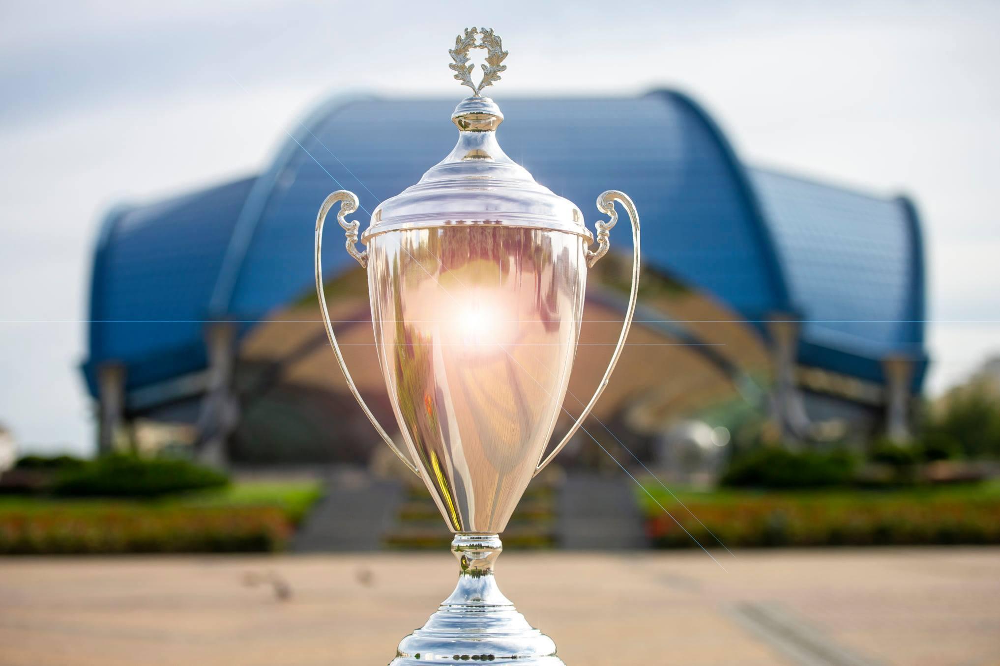 Кубок, який буде розіграно на Фіналі чотирьох, вже у Южному