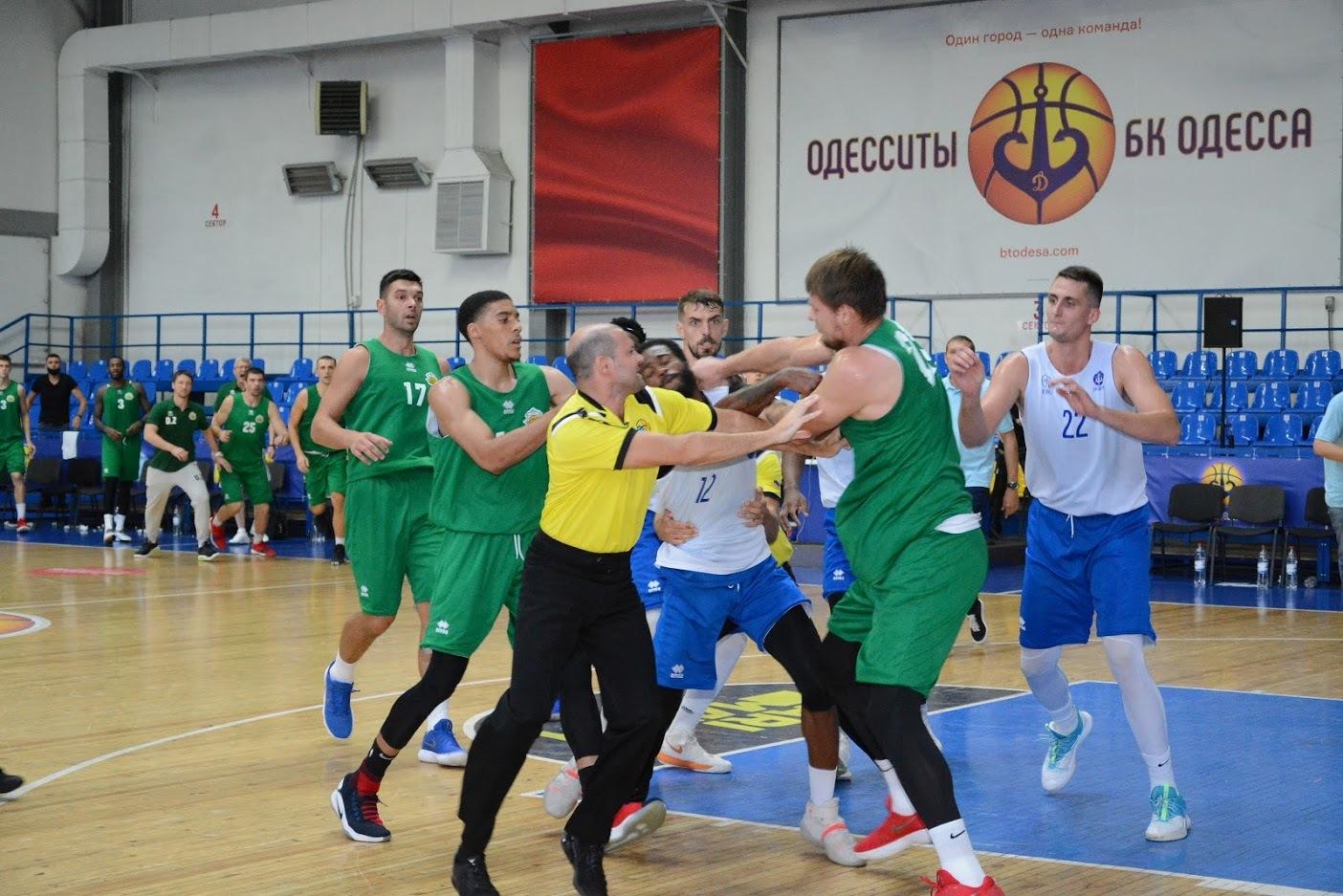 ФБУ розглянула інцидент, який відбувся у товариському матчі БК Одеса та БК Тернопіль