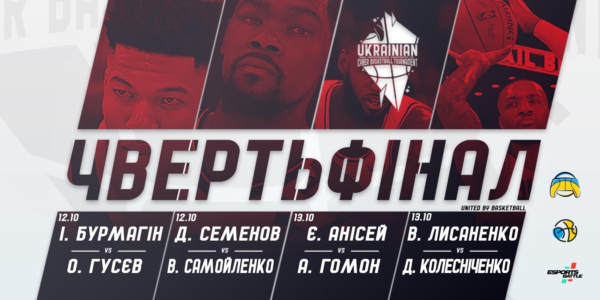 Стартував плей-оф чемпіонату України з Кібербаскетболу: відеотрансляція