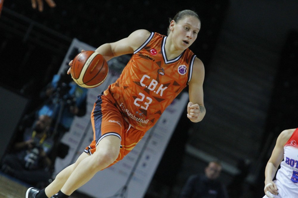 Аліна Ягупова провела черговий результативний матч в чемпіонаті Туреччини