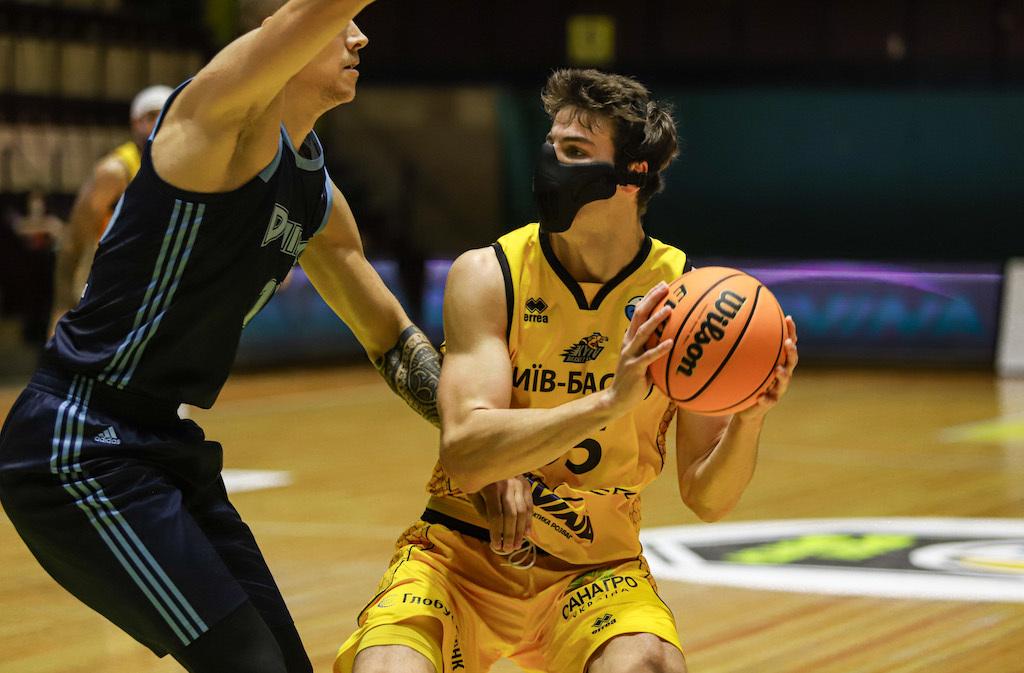 Київ-Баскет переміг Дніпро у центральному матчі тижня