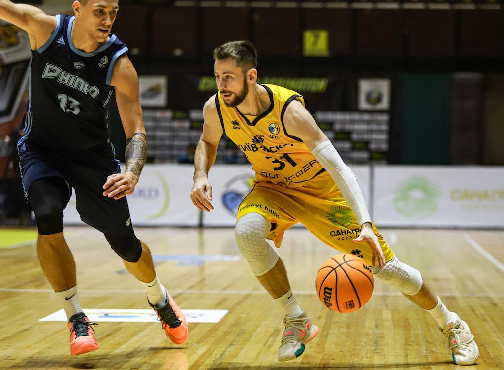 Київ-Баскет виграв шостий матч поспіль, перемігши Дніпро: фотогалерея