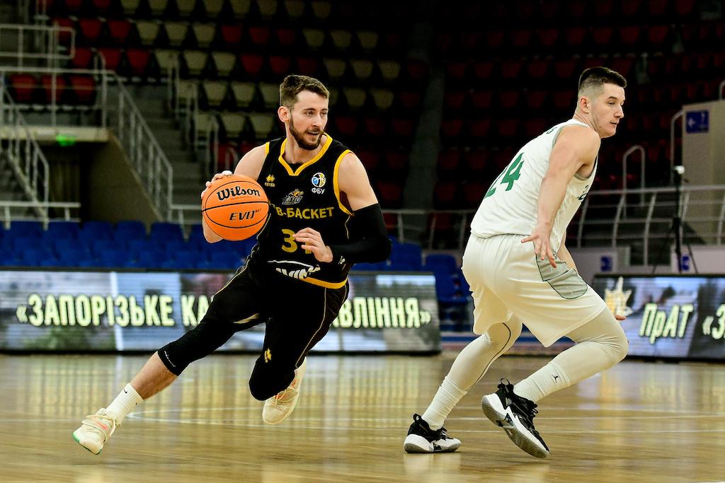 Київ-Баскет впевнено переміг Запоріжжя у центральному матчі п'ятниці