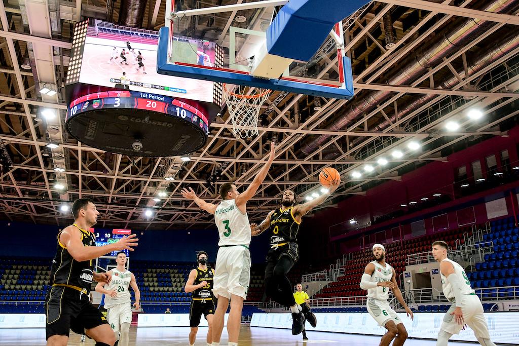 Київ-Баскет подовжив переможну серію в Запоріжжі: фотогалерея