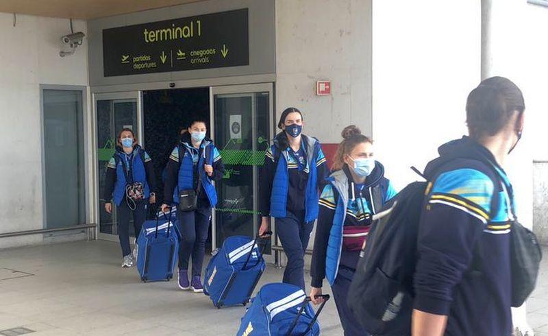 Збірна України прибула до Португалії