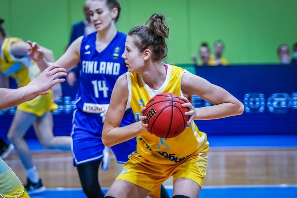 Вероніка Любінець встановила рекорд кваліфікації Євробаскета-2021
