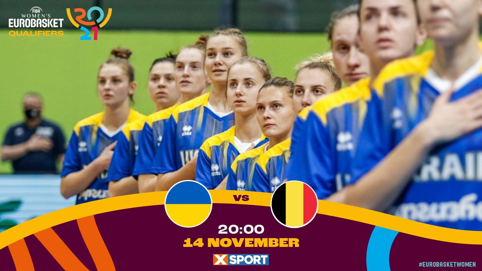 Україна – Бельгія: онлайн відеотрансляція відбору на ЄвроБаскет