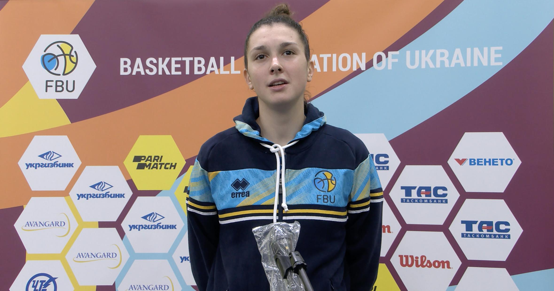 Уляна Дацько: гра за збірну - це великий досвід