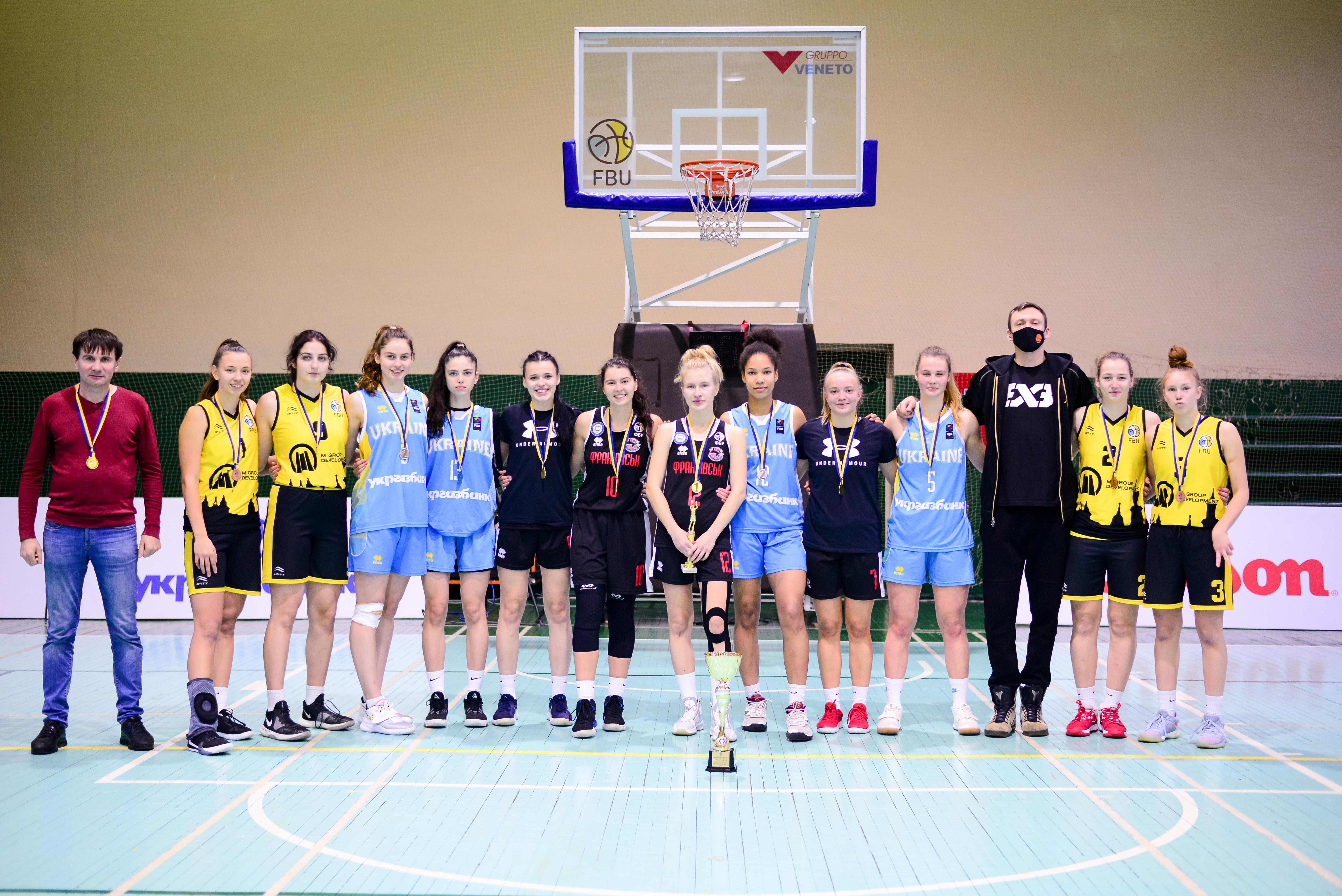 Кубок України з баскетболу 3x3 серед молодіжних команд: результати матчів 15 листопада