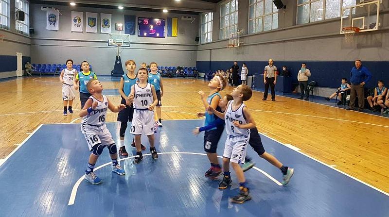 У Дніпрі зіграли матчі ВЮБЛ юнаки 2010 р.н.