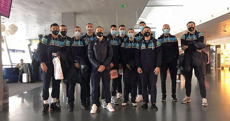 Збірна України вилетіла до Любляни