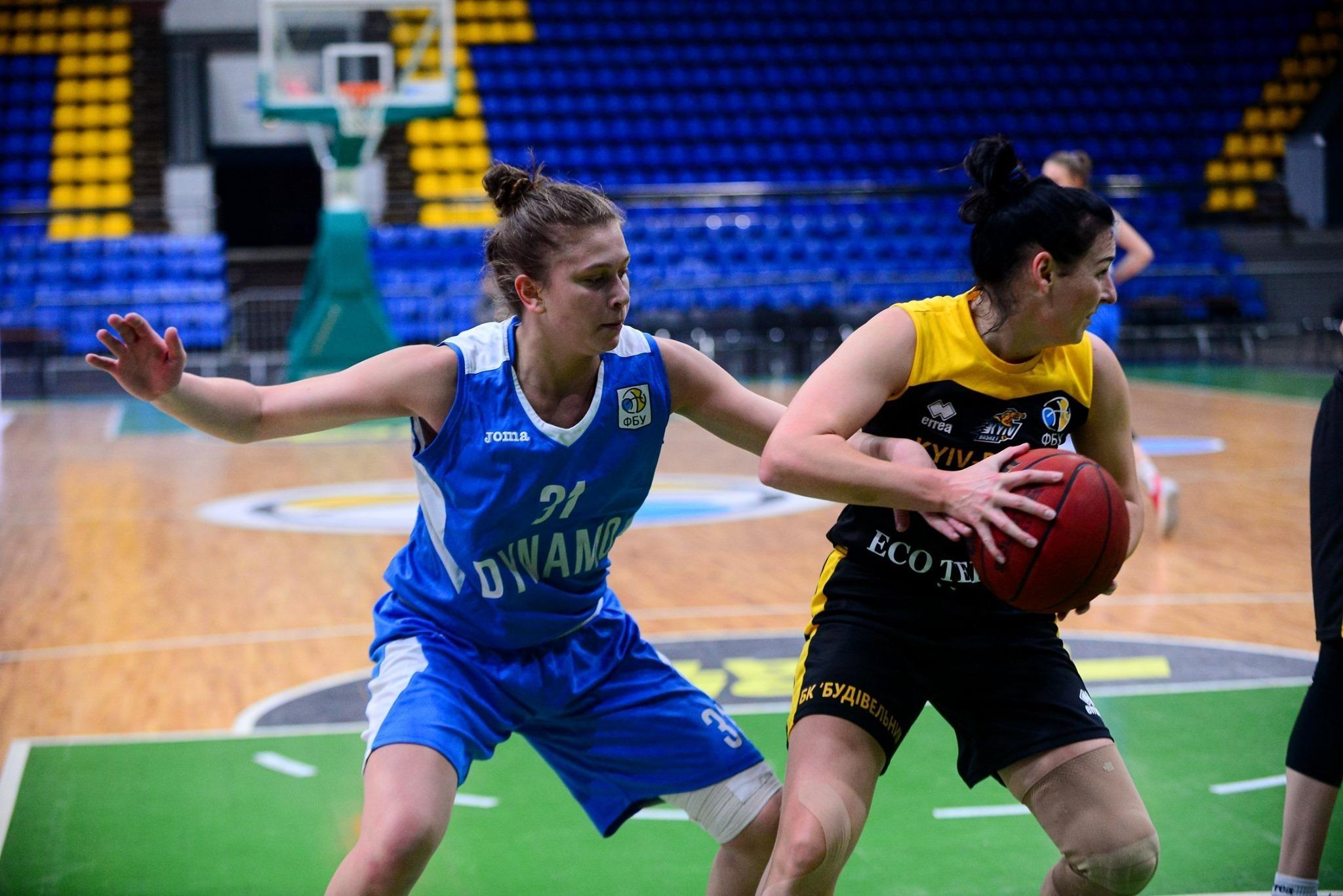 Жіноча Суперліга: Київ-Баскет у центральному матчі туру обіграв Динамо