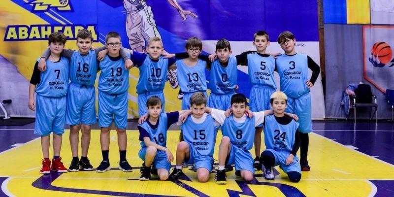 У Києві зіграли найменші баскетболісти ВЮБЛ