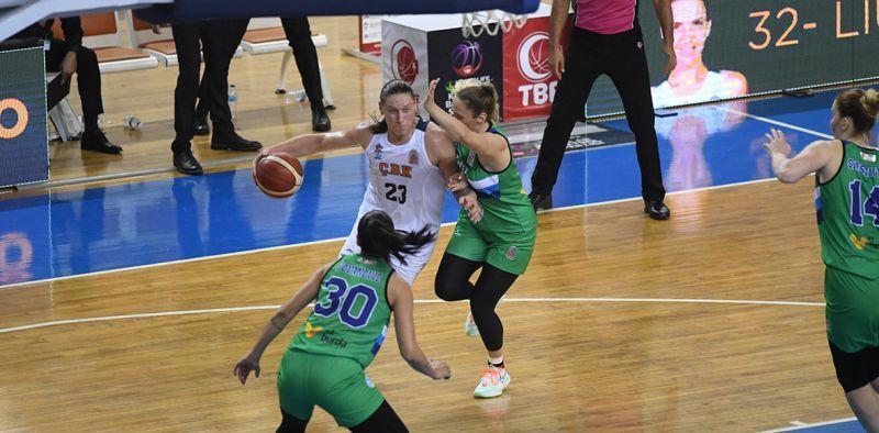 Українка Ягупова стала найрезультативнішою в матчі чемпіонату Туреччини