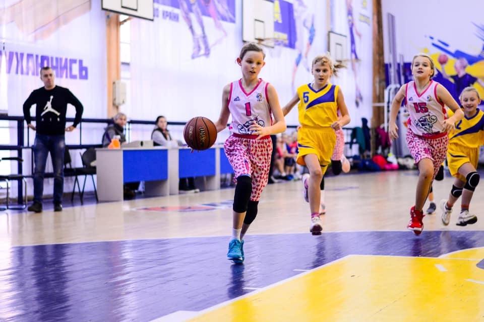 ВЮБЛ: в Києві завершилися матчі першого туру серед дівчат 2009 р.н.
