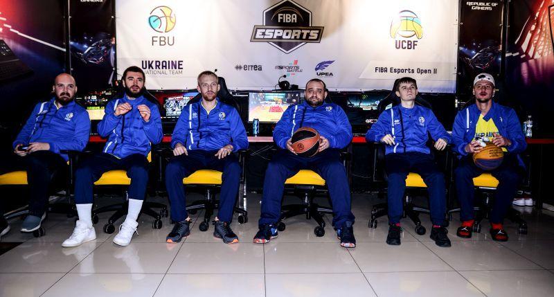 Збірна України виступила на FIBA Esports Open