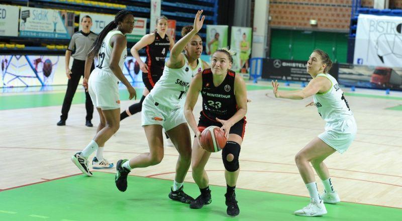 Ольга Яцковець допомогла Вінтертуру перемогти в матчі чемпіонату Швейцарії