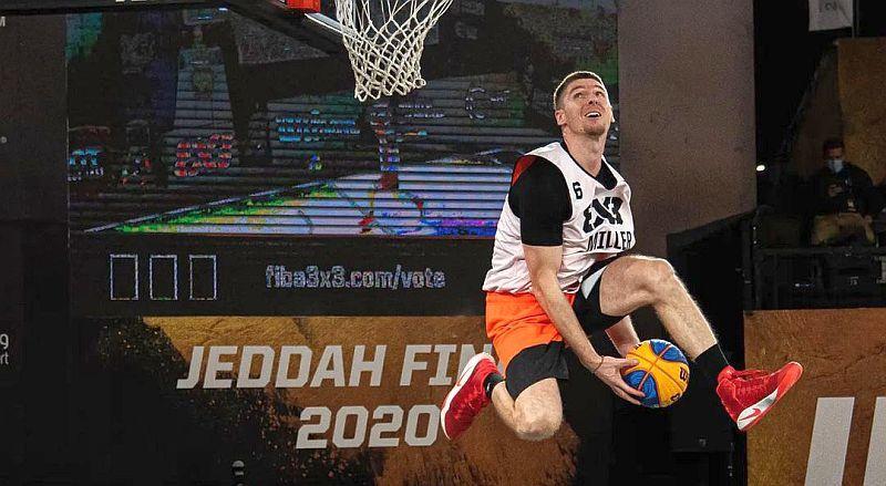 Українець Піддубченко став другим у конкурсі данків фіналу сезону FIBA 3х3 World Tour