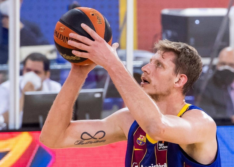Артем Пустовий допоміг Барселоні перемогти в матчі чемпіонату Іспанії