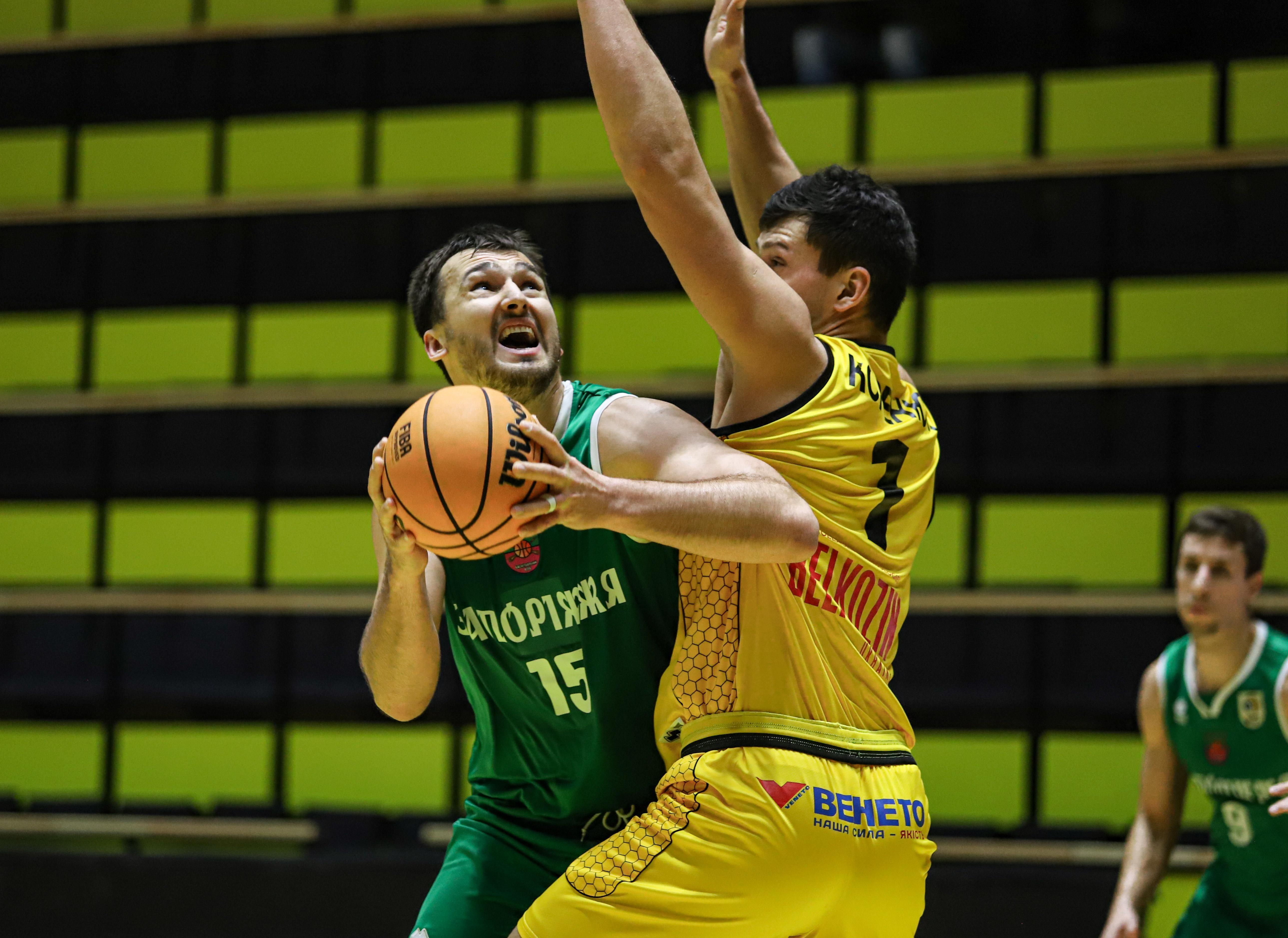 Запоріжжя сенсаційно завдало Київ-Баскету першої поразки в сезоні