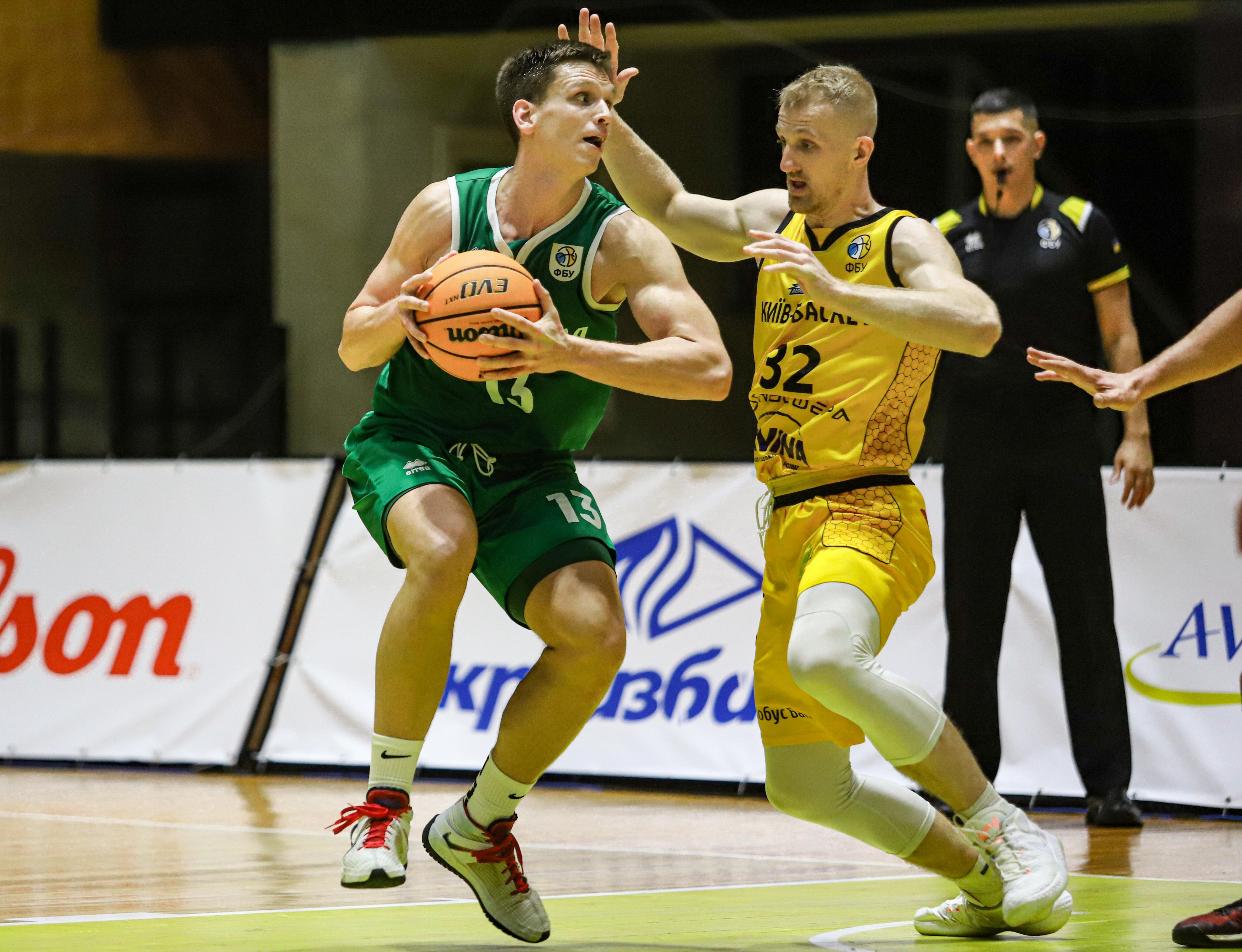 Як Київ-Баскет зазнав першої поразки в сезоні: фотогалерея