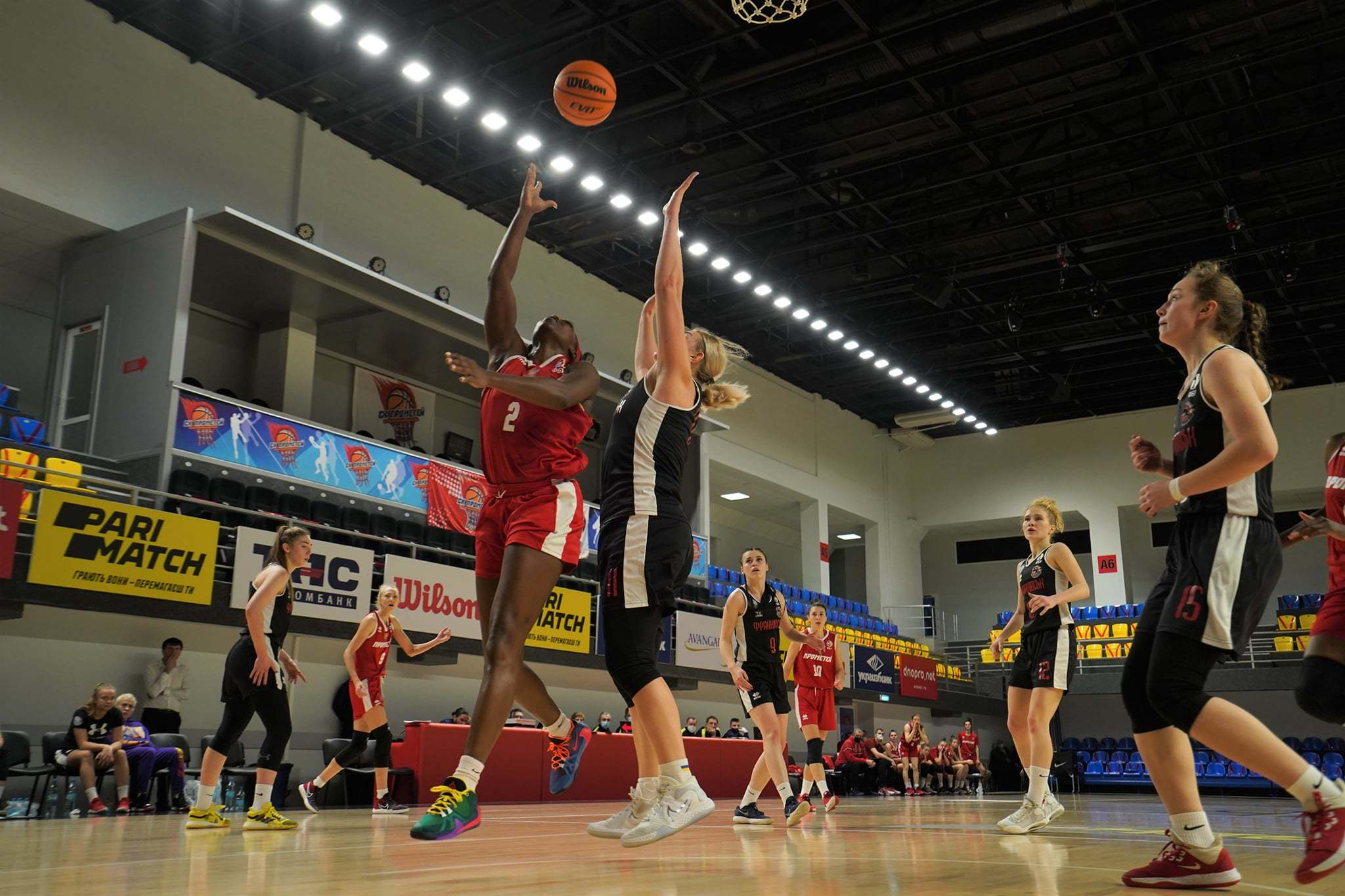 Жіночі Прометей та Київ-Баскет впевнено закрили 8-й тур: результати матчів жіночої Суперліги 10 січня