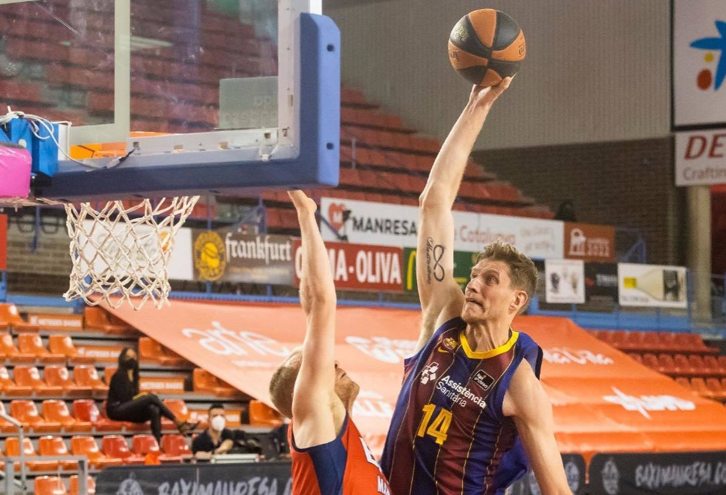 Артем Пустовий провів вдалий матч у чемпіонаті Іспанії
