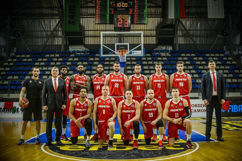 Прометей здобув дебютну перемогу на євроарені, здолавши Київ-Баскет у Кубку Європи ФІБА