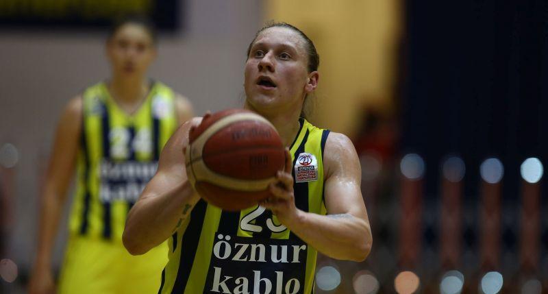 Ягупова допомогла Фенербахче вибороти вольову перемогу в турецькому чемпіонаті