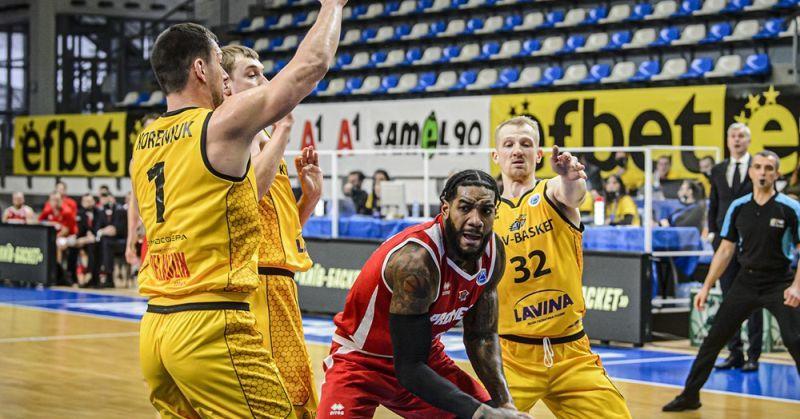 Київ-Баскет та Прометей зіграють другі матчі Кубка Європи ФІБА