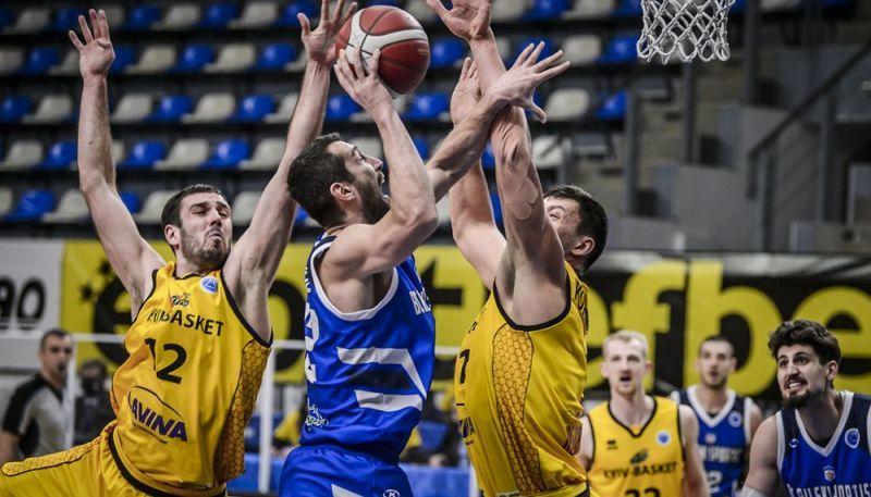 Київ-Баскет програв у третьому матчі Кубка Європи ФІБА