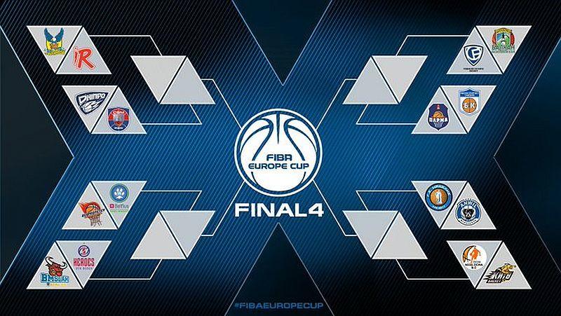 Київ-Баскет, Прометей та Дніпро отримали суперників по 1/8 фіналу Кубка Європи ФІБА