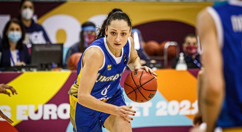 Українка Філевич претендує на титул MVP дня кваліфікації чемпіонату Європи