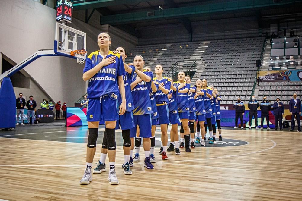 Жіноча збірна України не зіграє на Євробаскеті-2021