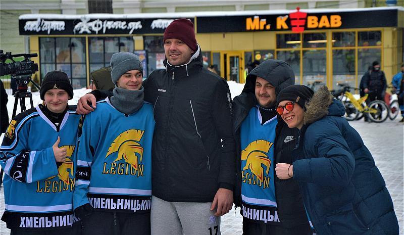 Баскетболіст Тернополя взяв участь у хокейному Тренуванні з зіркою