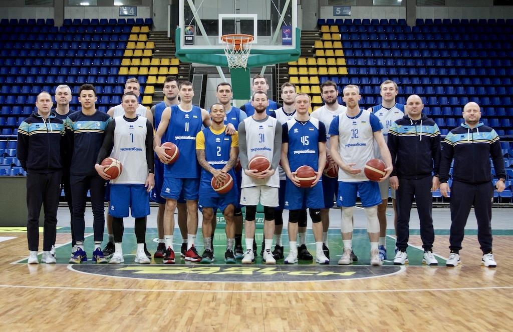 Збірна України розпочала підготовку до заключних матчів кваліфікації чемпіонату Європи