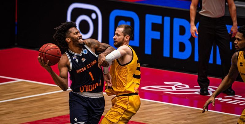 Київ-Баскет поступився в 1/8 фіналу Кубку Європи ФІБА