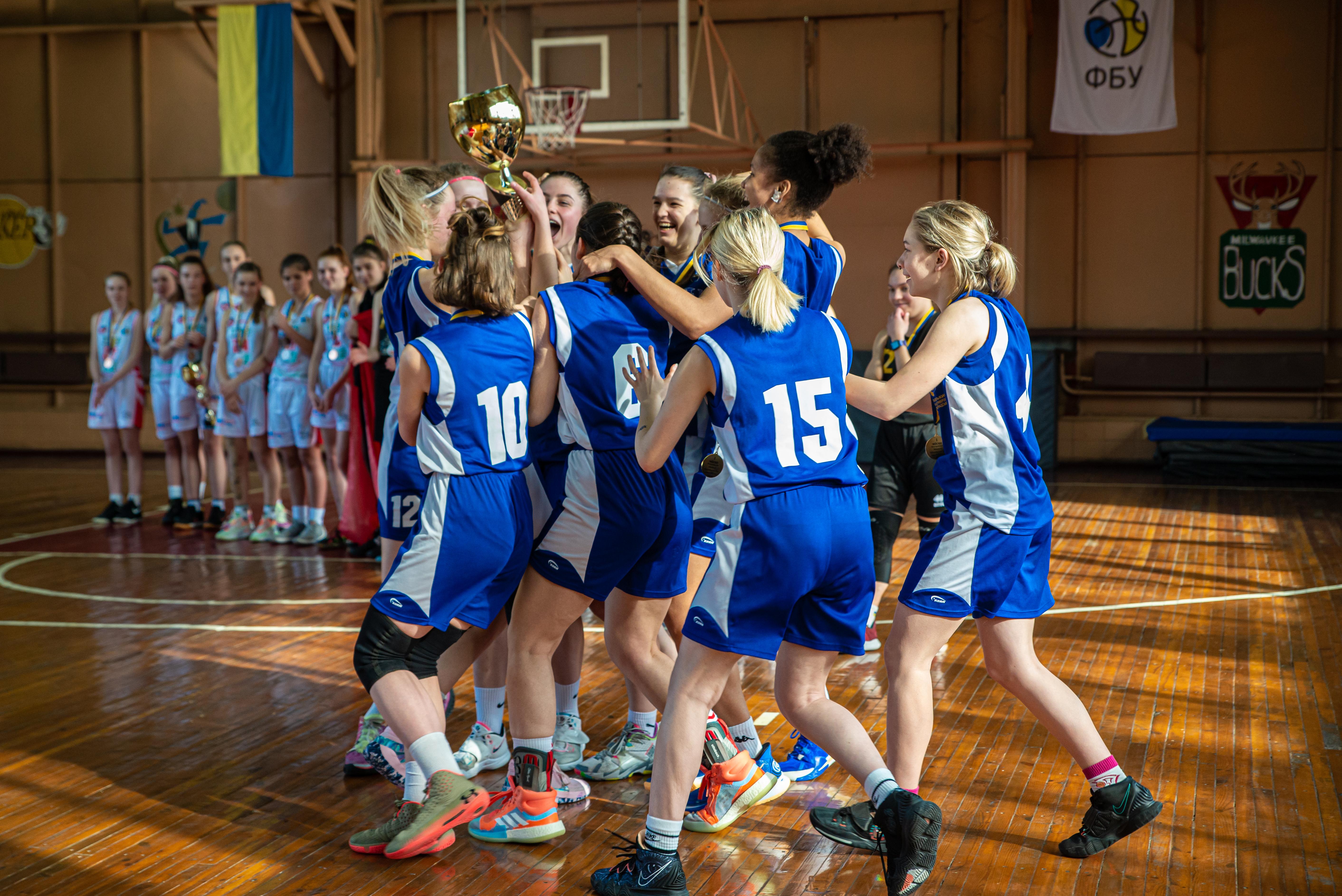ВЮБЛ: Збірна Києва-ТНУ – чемпіон серед дівчат 2004 року народження