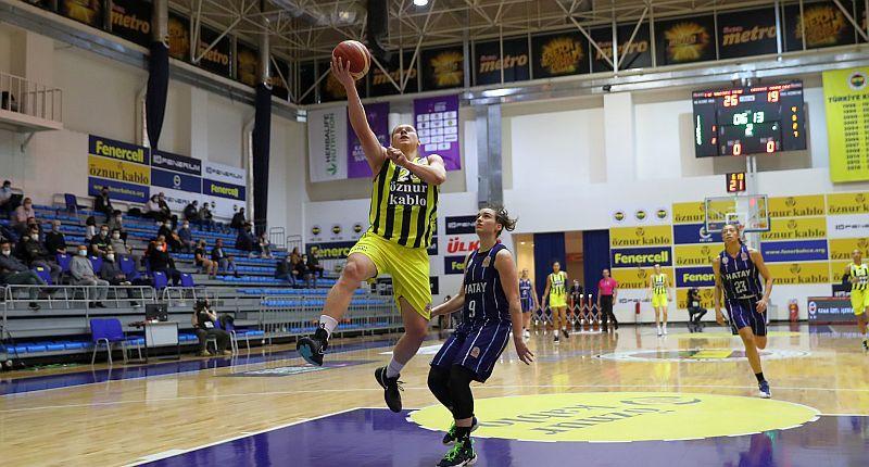 Ягупова стала найрезультативнішою в першому чвертьфіналі чемпіонату Туреччини