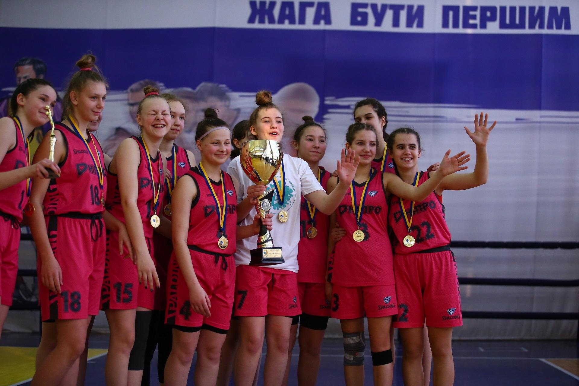 ВЮБЛ: ДФКС-СДЮСШОР№5 - чемпіон серед дівчат 2007 року народження