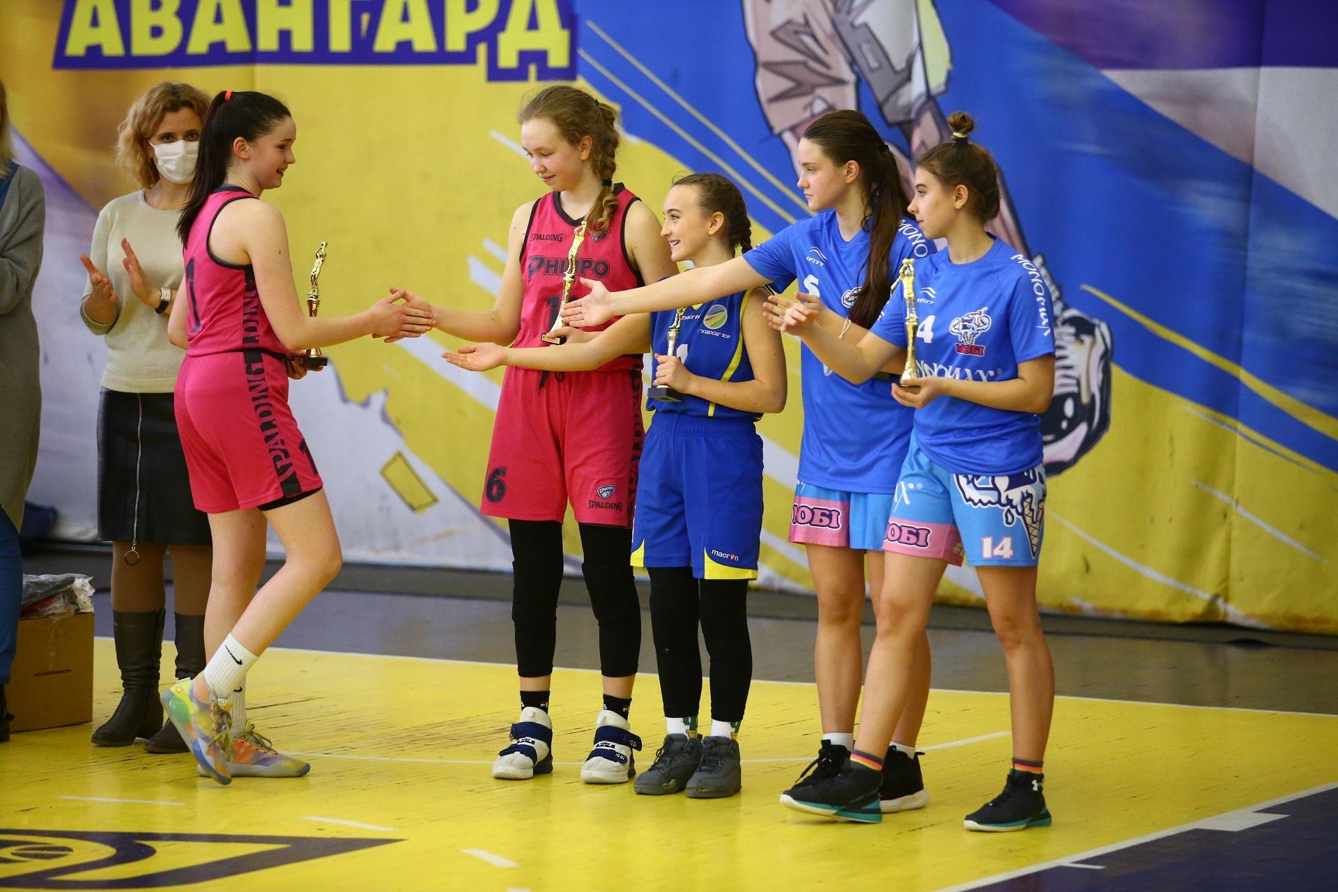 ВЮБЛ: визначилися символічна п'ятірка та MVP Фіналу восьми серед дівчат 2007 р.н.